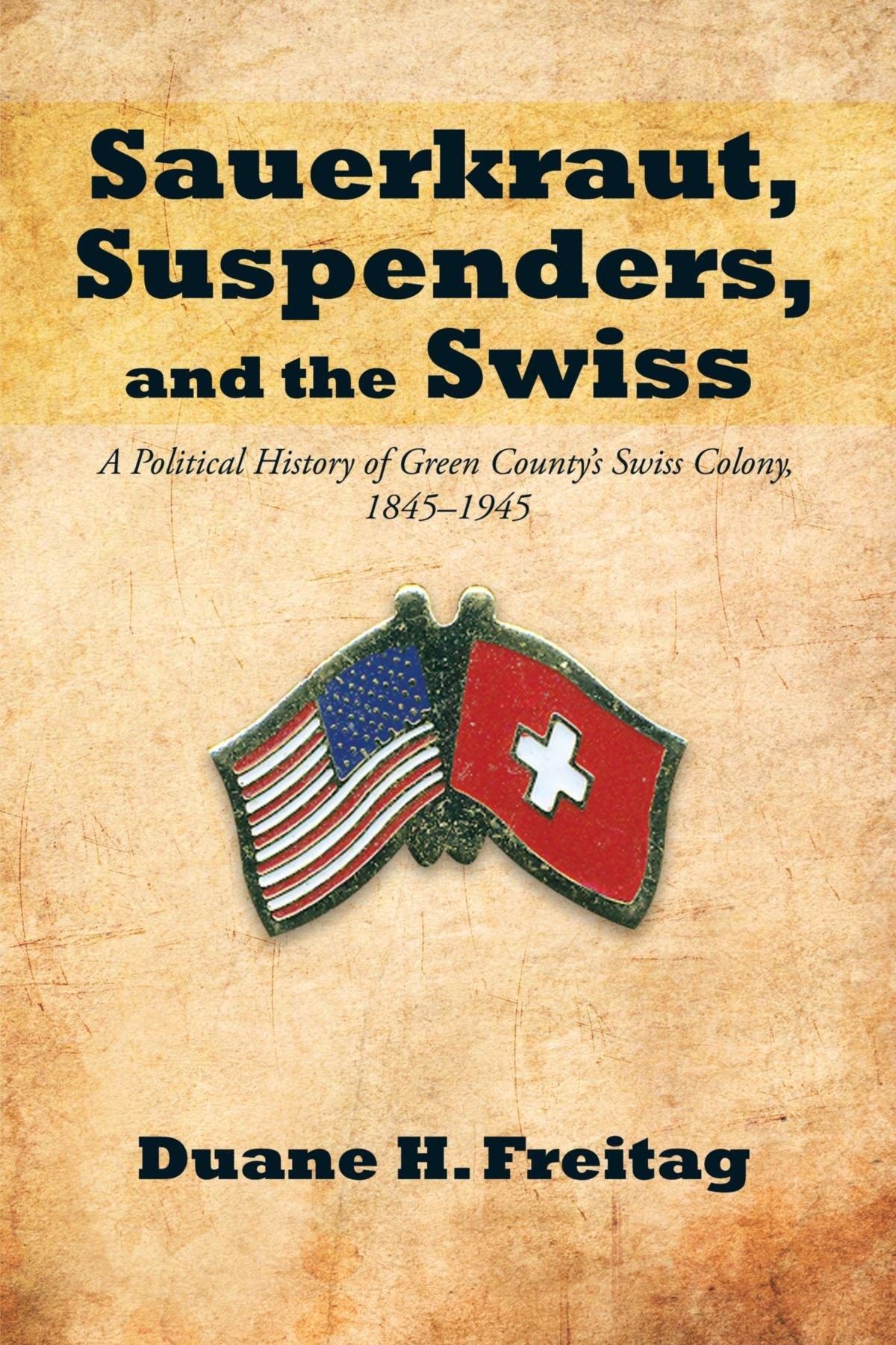 Sauerkraut Suspenders Swiss Political 1845 1945 product image