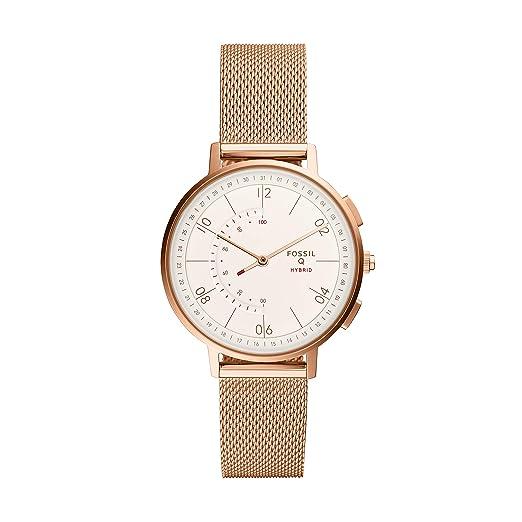 Amazon.com: Fossil - Reloj de cuarzo para mujer con diseño ...