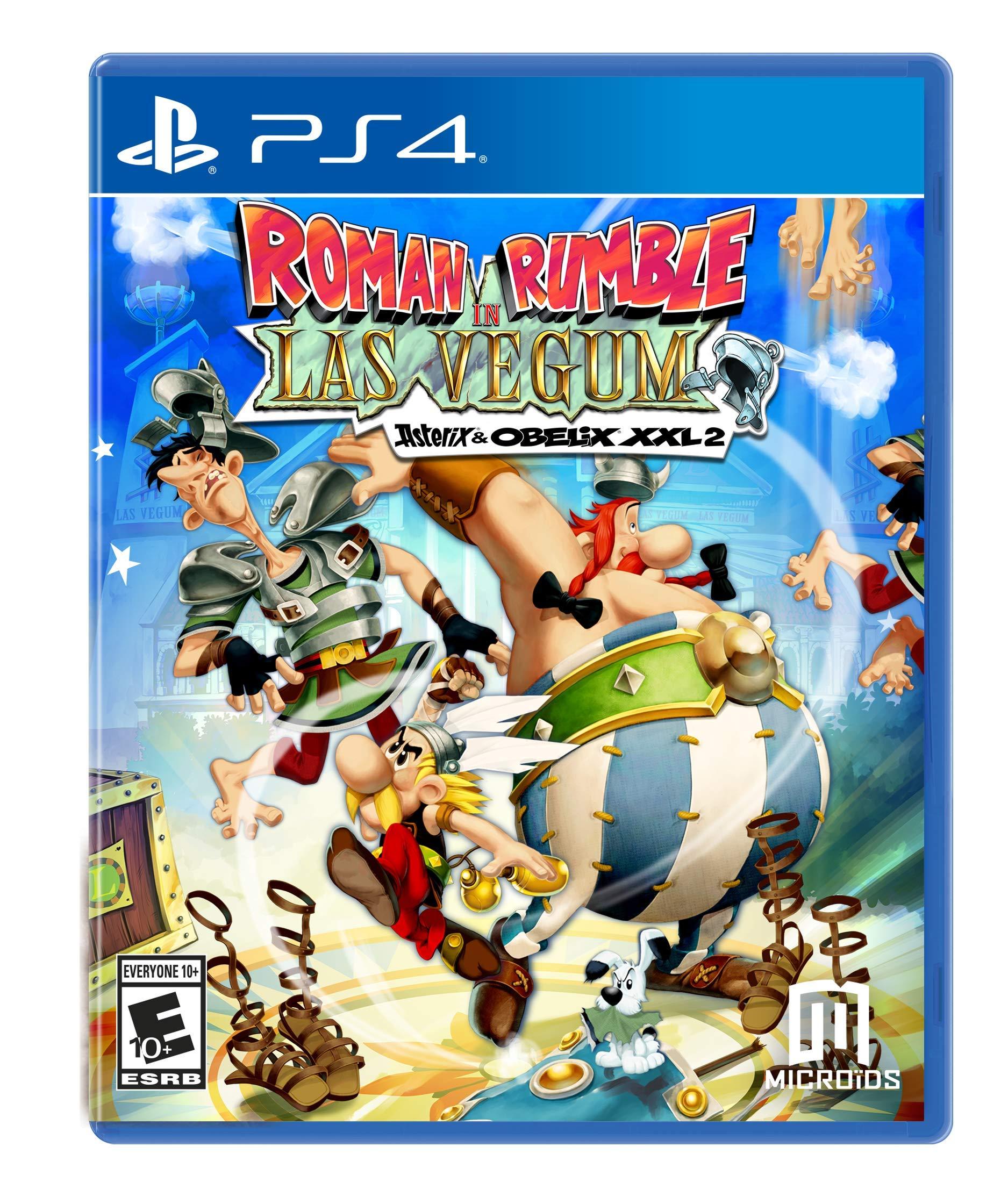 Roman Rumble In Las Vegum: Asterix & Obelix Xxl 2 (PS4) - PlayStation 4
