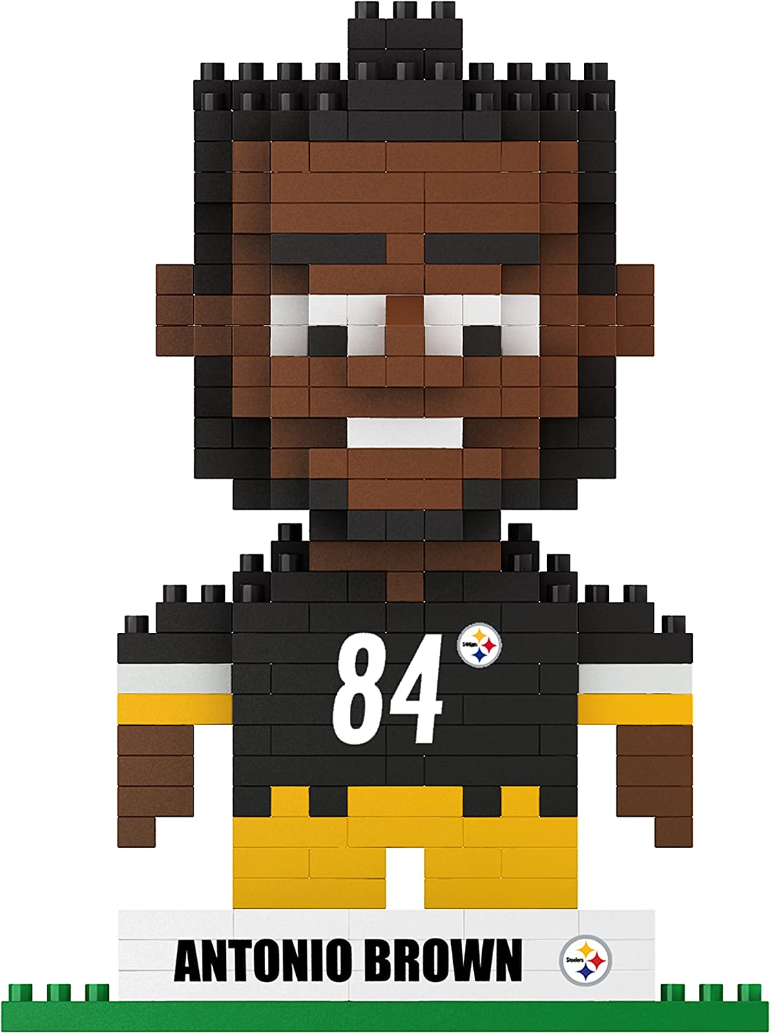 Pittsburgh Steelers Brown A #84 3D Brxlz Player