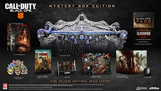 Call Of Duty Black Ops 4 Mystery Box Xbox One Video Games