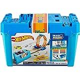 Hot Wheels Track Builder Multi Loop Box Playset