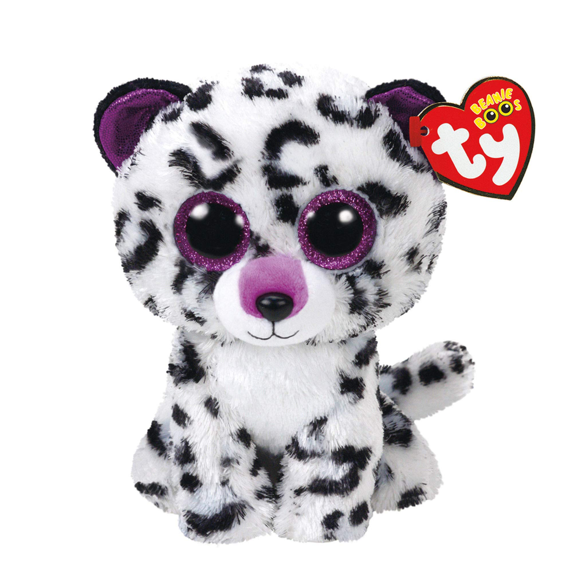 Ty Beanie Boos Violet - Leopard (Claire's Exclusive) by Ty