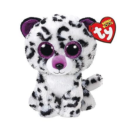 5e75d8eeffd Amazon.com  Ty Beanie Boos Violet - Leopard (Claire s Exclusive ...