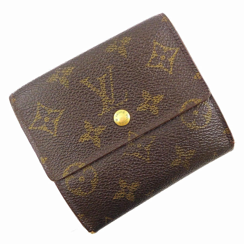 [ルイヴィトン] LOUIS VUITTON 二つ折り財布 モノグラム M61652 PVC×レザー X16861 中古 B079PZ83PN