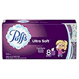 Puffs Ultra Soft Facial Tissues, 24 Cubes, 56