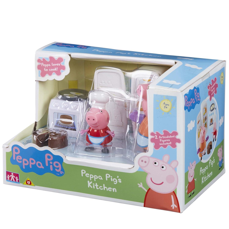 Amazon Peppa Pig 5 Piece Kitchen Playset Toys & Games