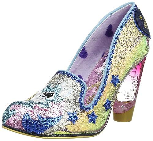 best sneakers fb95c 916e8 Irregular Choice - Lady Misty, Scarpe col Tacco Punta Chiusa ...