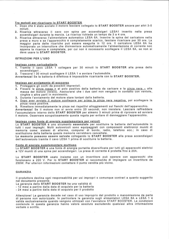 12 V 2500 A CORA 000126831 Start Booster P4 Professional arrancador de Emergencia