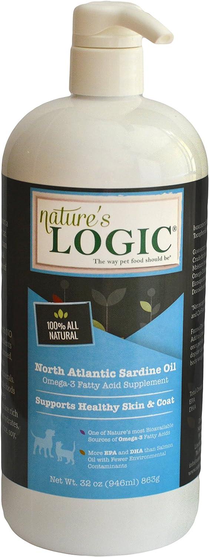 Nature's Logic North Atlantic Sardine Oil, 16oz