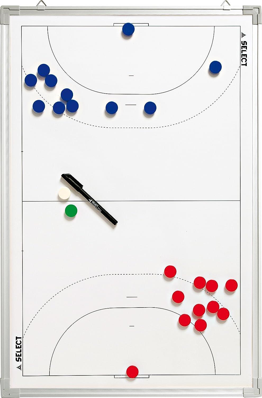 TALLA 60 x 90 cm. Derbystar Select - Pizarra táctica para balonmano, color blanco