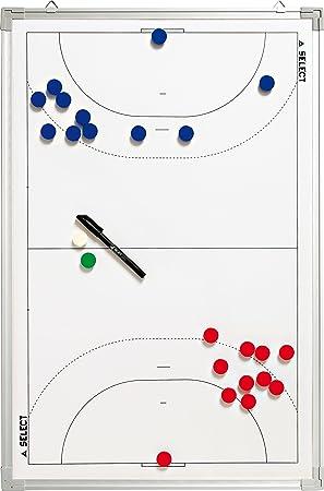 Select - Pizarra táctica de Balonmano, Color Blanco, 45 x 30 ...