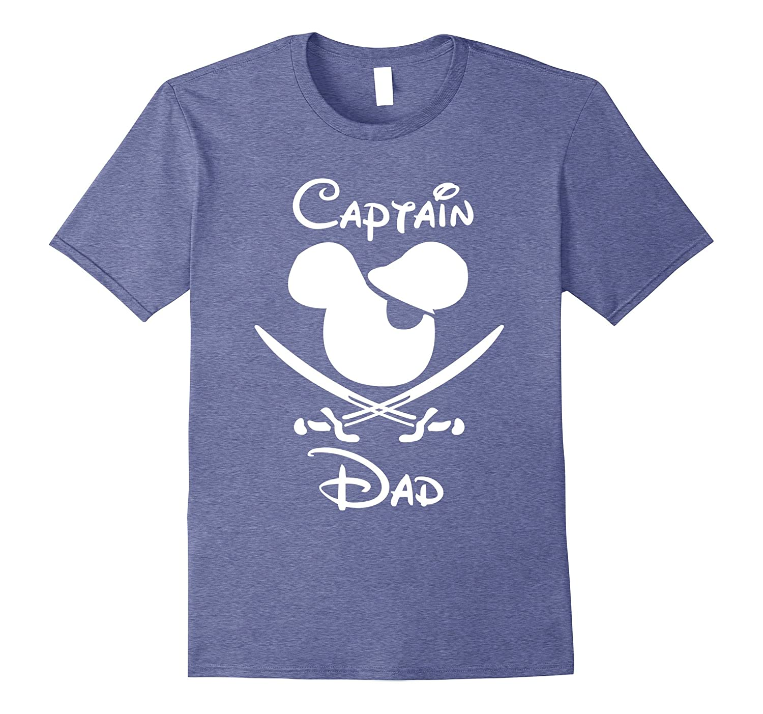 Pirate Captain Dad Halloween set Family vacation Dad Shirt-TJ