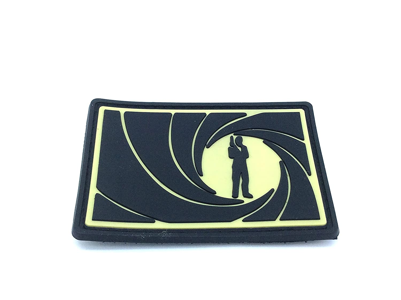 James Bond 007 Softair PVC Patch Toppa Patch Nation