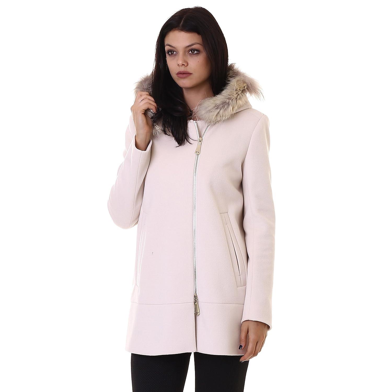 Very Simple abrigo paño con pelo A0006