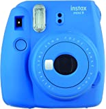 FujiFilm Instax Mini 9 Bundle Pack (Cobalt Blue)