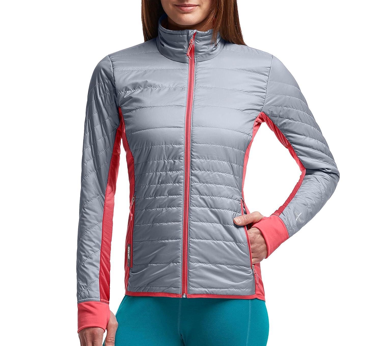 Icebreaker Merino Womens Helix Long Sleeve Zip Coat