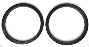Fab International 2 Pack Replacement Gasket Compatible with Nutri Bullet Rx Blender for (1700 W) After Market Part.