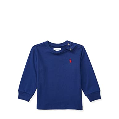 Ralph Lauren Baby Boy Long Sleeve T Shirts Authentic Amazon Co Uk