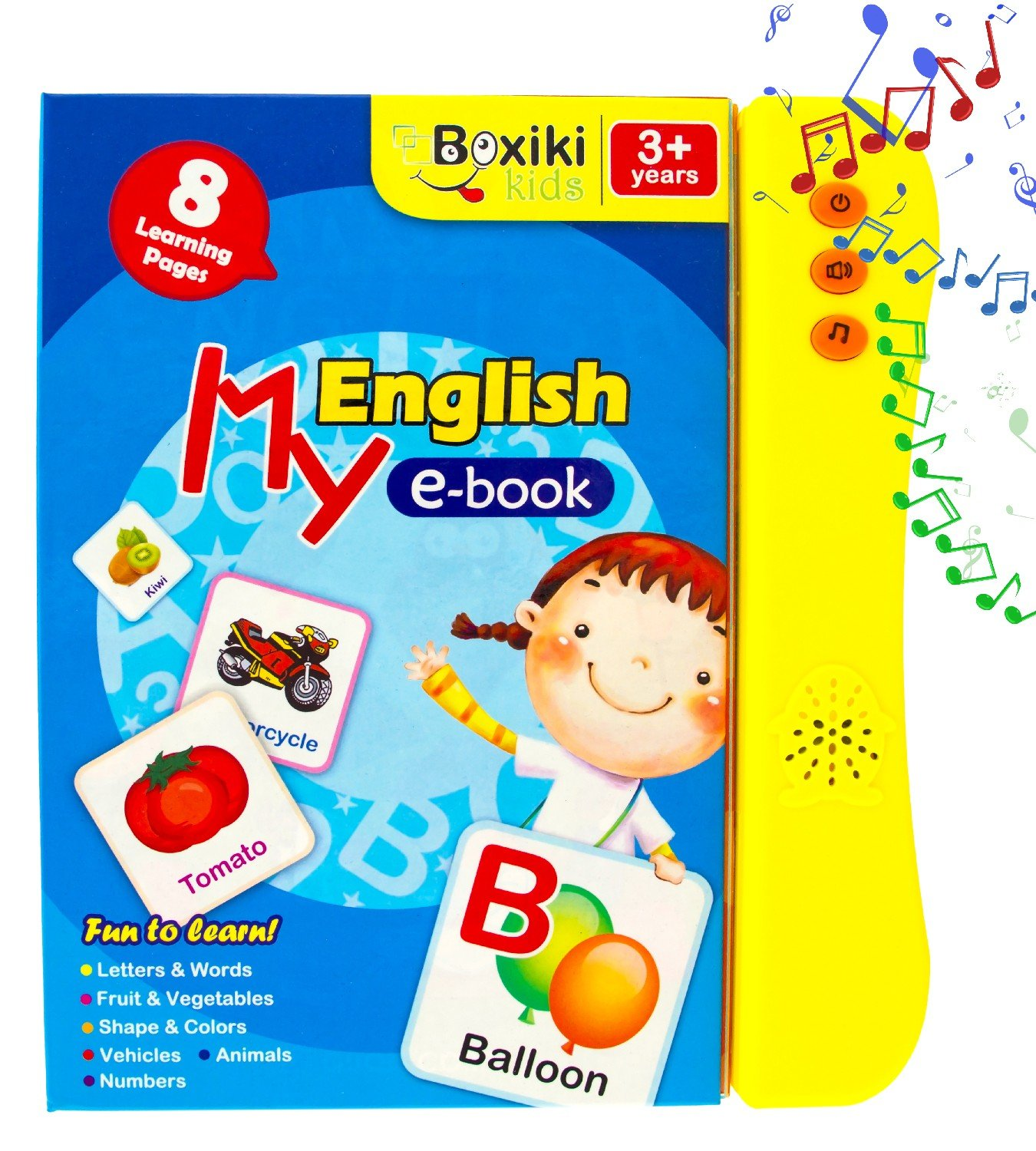 ABC Sound Book For Children / English Letters Words