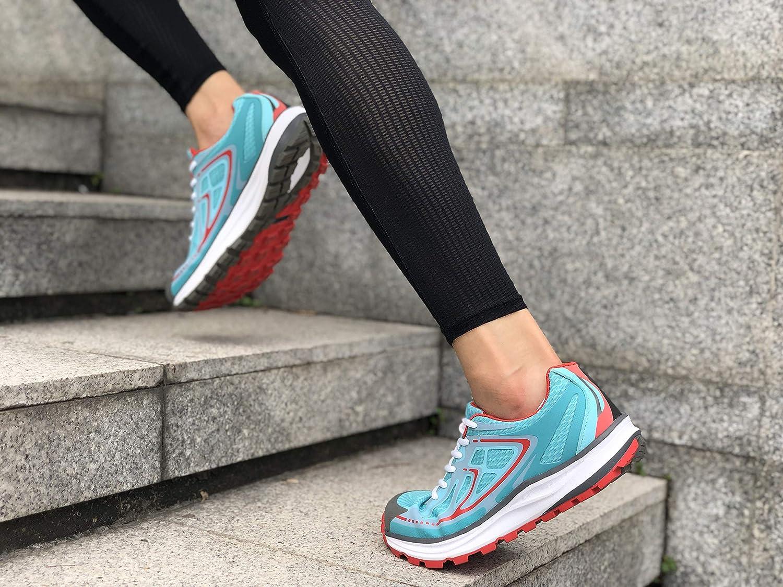 Gr/ö/ße 36-41 XPETI Cloud Laufschuhe Damen,Sneaker Atmungsaktiv Sportschuhe Ultraleicht Breiter Fu/ß