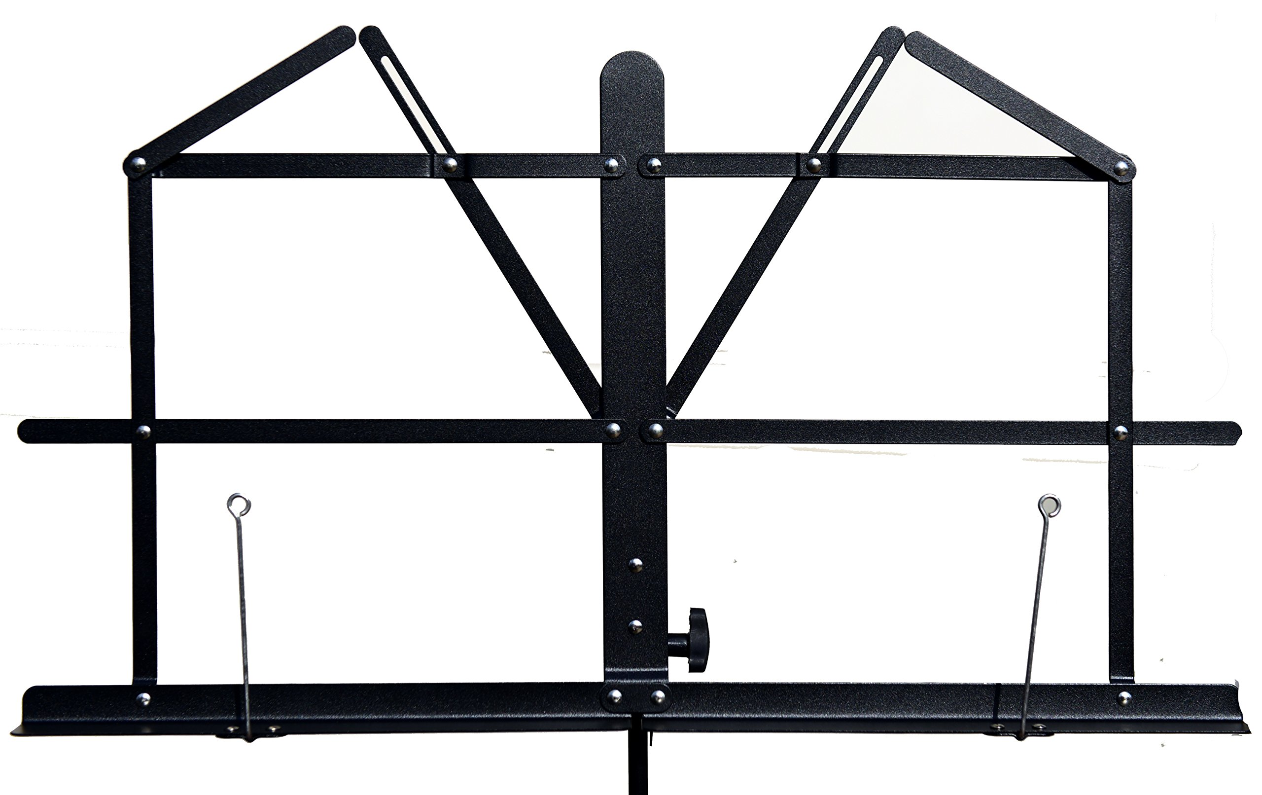 Hisonic Signature Series 7121 Two Section Folding Music Stand with Carrying Bag by Signature Music Instruments (Image #7)