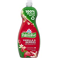 Palmolive Ultra Strength Concentrate Dishwashing Liquid Concentrate Vanilla and Berries Tough on Grease, 700mL