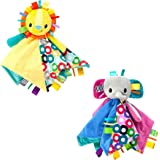 Bright Starts Cuddles and Tags Blankie - Assorted Models