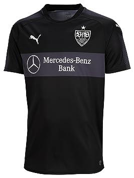 Puma - Réplica de la camiseta patrocinada de la tercera equipación del Stuttgart VfB, unisex, 924443 13, Puma Black-Puma Black, small: Amazon.es: Deportes y ...