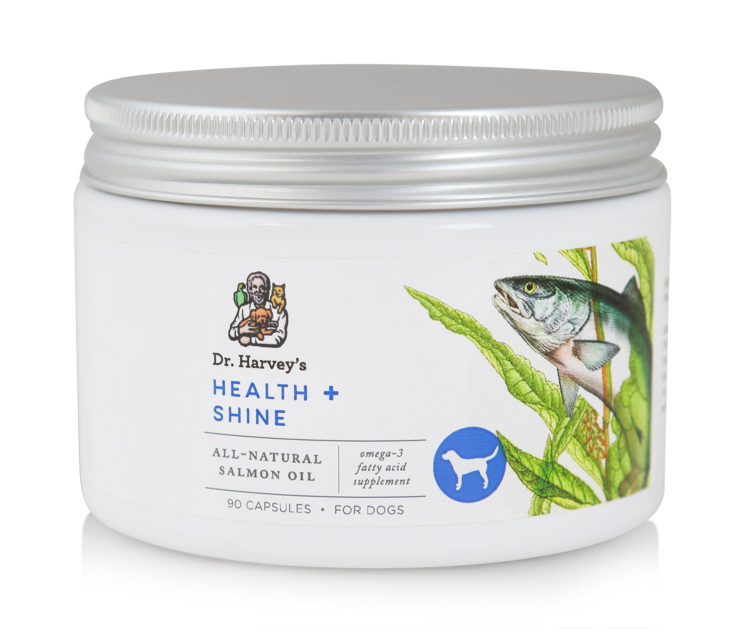 Dr. Harvey's 90 Count Health and Shine Oil Capsules for Dogs