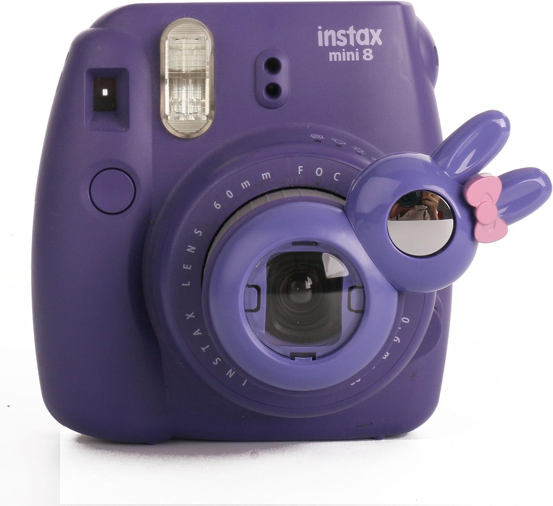 Orange//Blue//Red//Green Woodmin Compatible Color Close up Lens Filter for Fujifilm Instax Mini 90 Camera