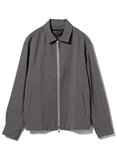 Stripe Polyester Blouson 51-18-0305-012: Grey