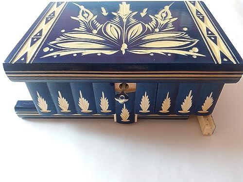 Grande caja puzzle enorme del rompecabezas de la caja azul, caja ...