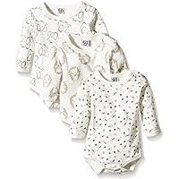 Care Unisex Baby Langarm-Body im 3er Pack