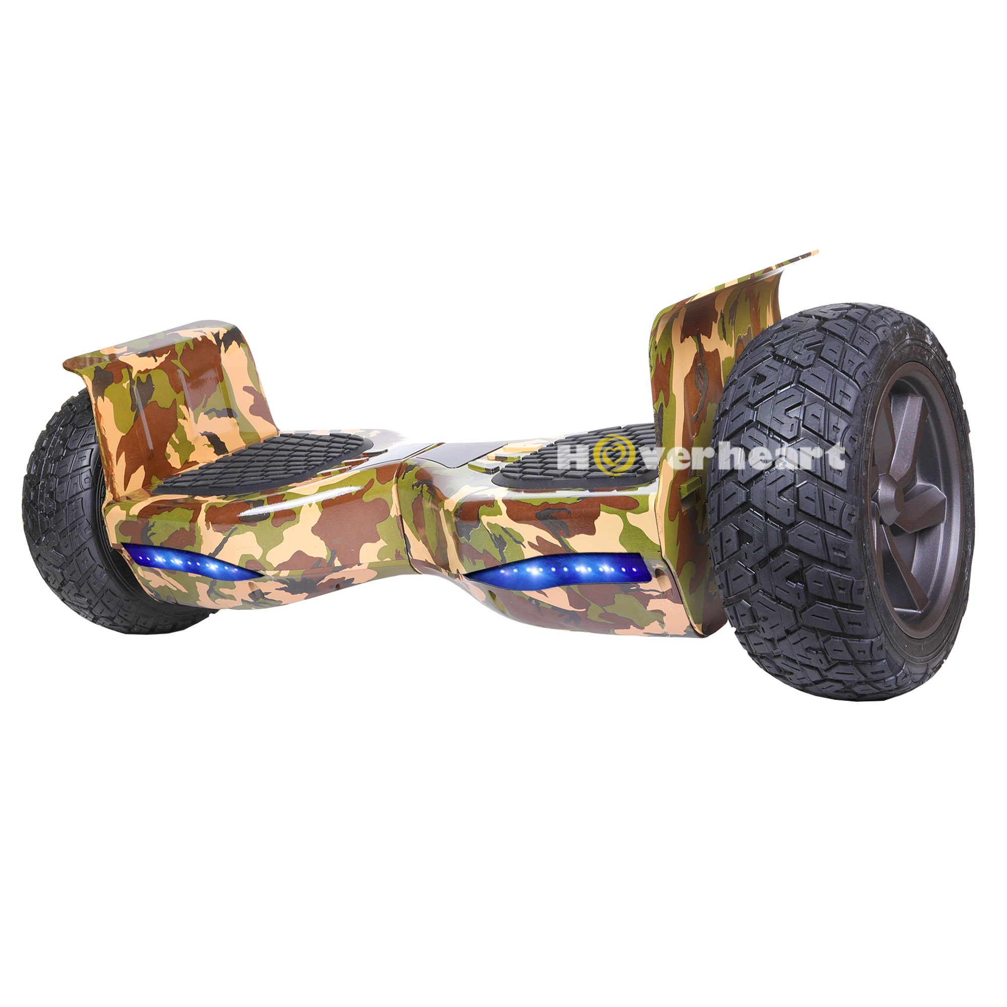 Hoverboard 8.5'' Two-Wheel Metal Self Balancing All-Terrain Alloy Wheel Electric Scooter UL 2272 Certified (Camouflage) by HOVERHEART