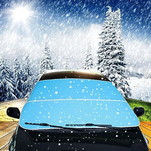 2 opinioni per Copertura per parabrezza auto universale, copertura per neve, pellicola
