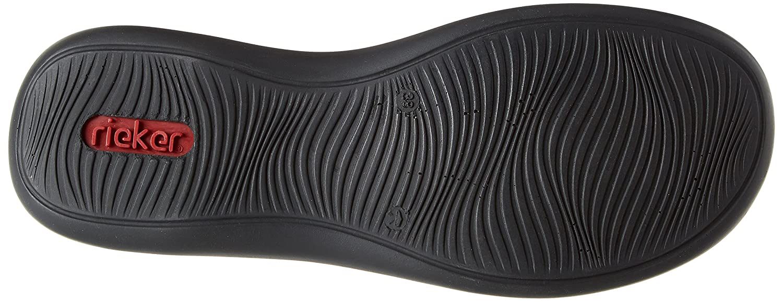 Rieker Perforated Flat (46375) Shoe B076H98N7F 38 M EU|10 Lt Blue