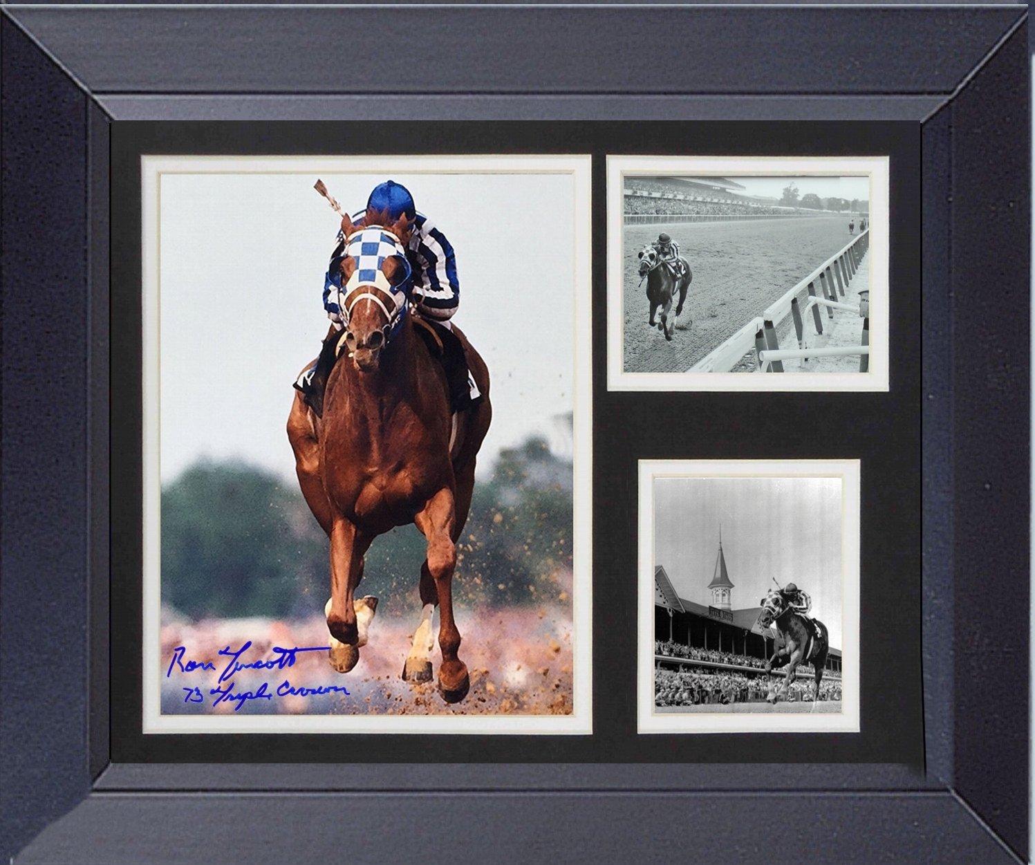 Secretariat: Framed 14 x 17 Thoroughbred Racing's 1973 Triple Crown Winner. Kentucky Derby
