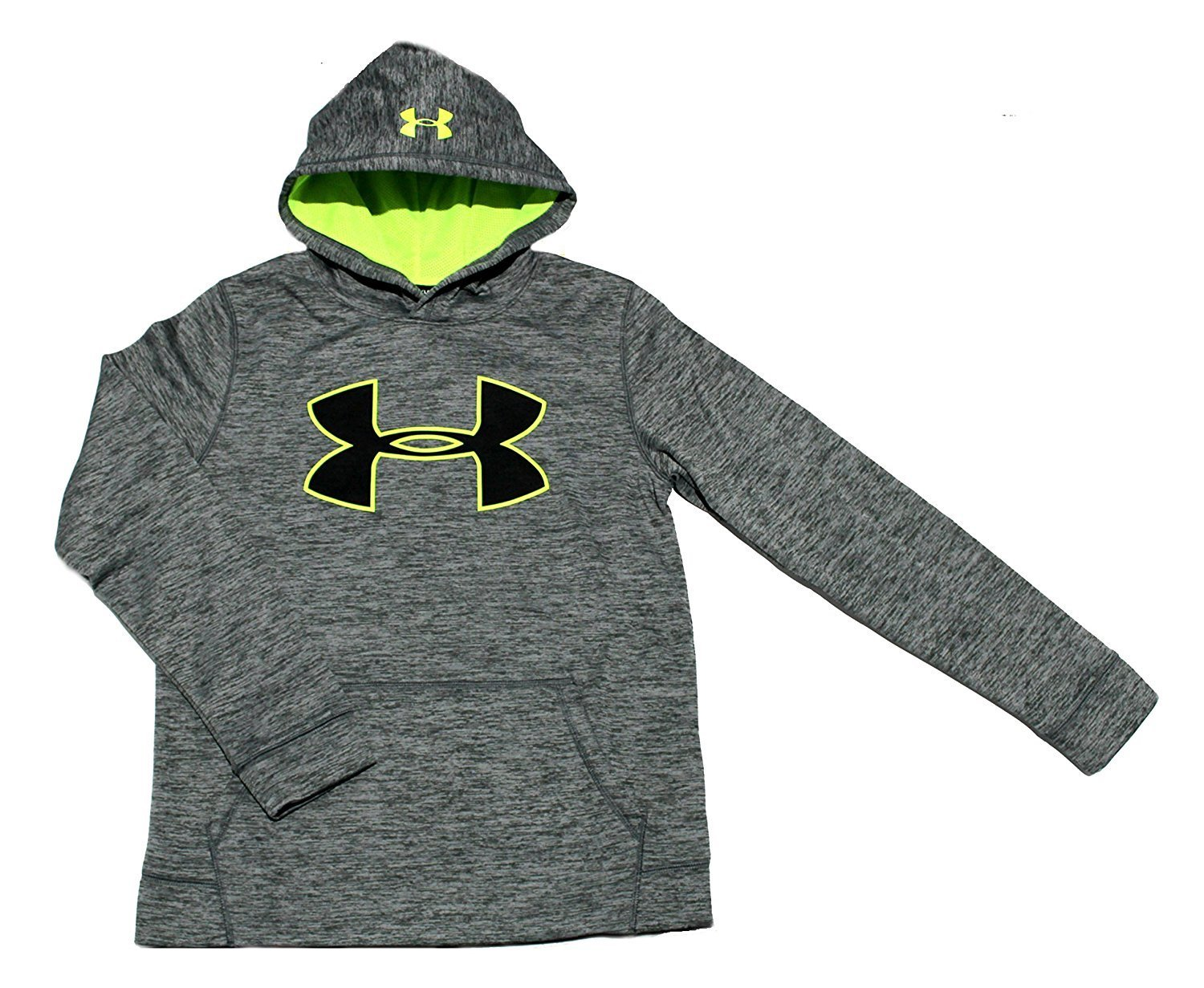 Under Armour Boys Youth Athletic STORM Fleece Hoodie Water Resistant Small