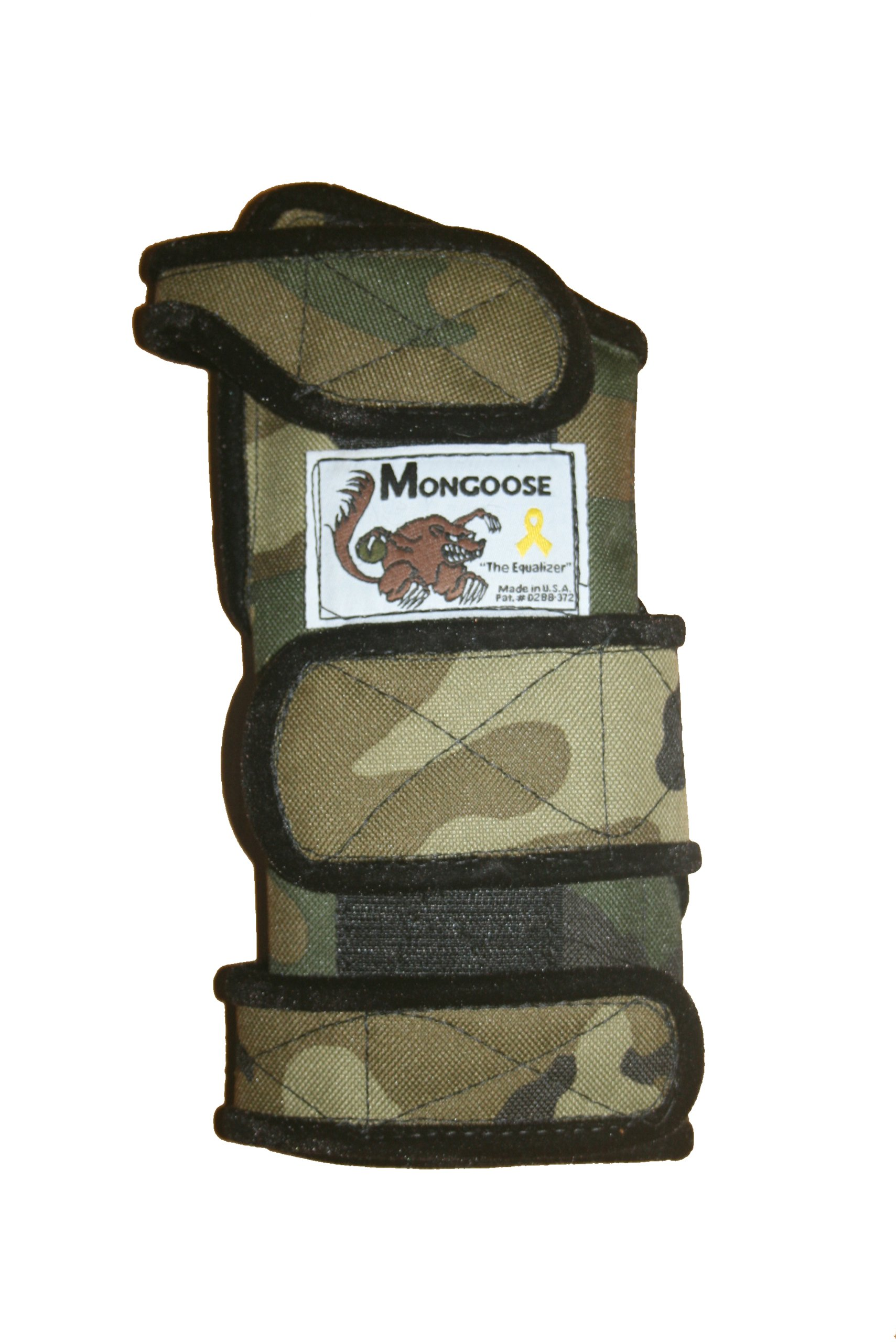 Mongoose ''Equalizer Bowling Wrist Support Right Hand, Large, Camo