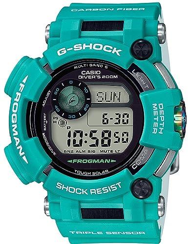 Reloj Casio G-shock - Reloj G Shock Frogman Master en color azul marino Solar Radio gwf-d1000mb-3jf?? Hombre: Amazon.es: Relojes