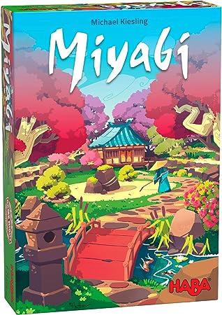 HABA 305251-Miyabi-ESP, colocación táctica para Jugadores a Partir de 8 años, Familiar del exitoso Autor del Juego del Año Michael Kiesling (Habermass 305251): Amazon.es: Juguetes y juegos