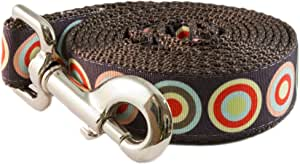Paw Paws USA Espresso Shot Dog Leash, Medium, Multicolored
