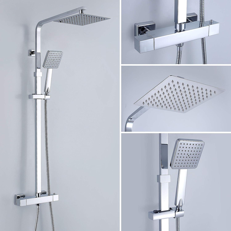 Columna de ducha termoestática KALA: Amazon.es: Bricolaje y ...