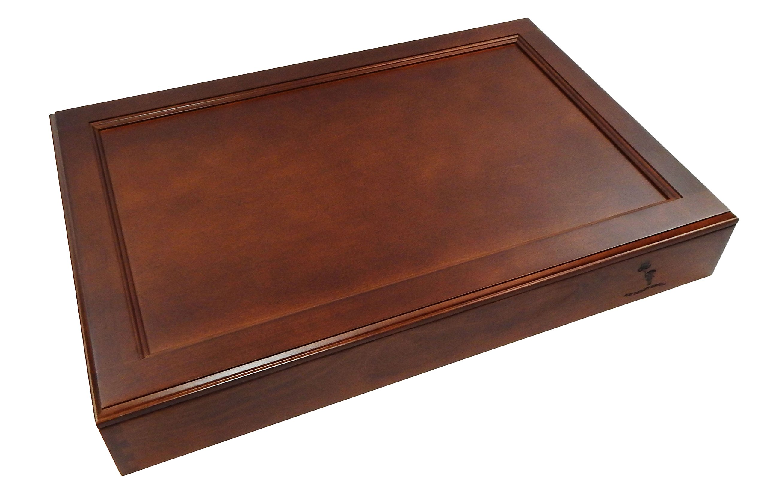 Play Therapy Supply Premium Wooden Sandtray with Lid by PlayTherapySupply (Image #2)