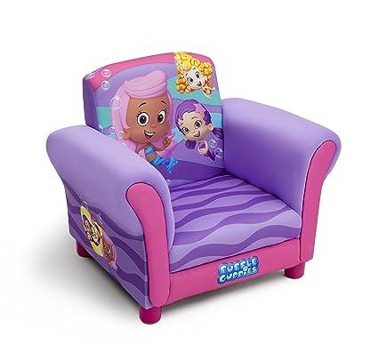 Amazon.com: Delta Children tapizado silla, BUBBLE GUPPIES: Baby