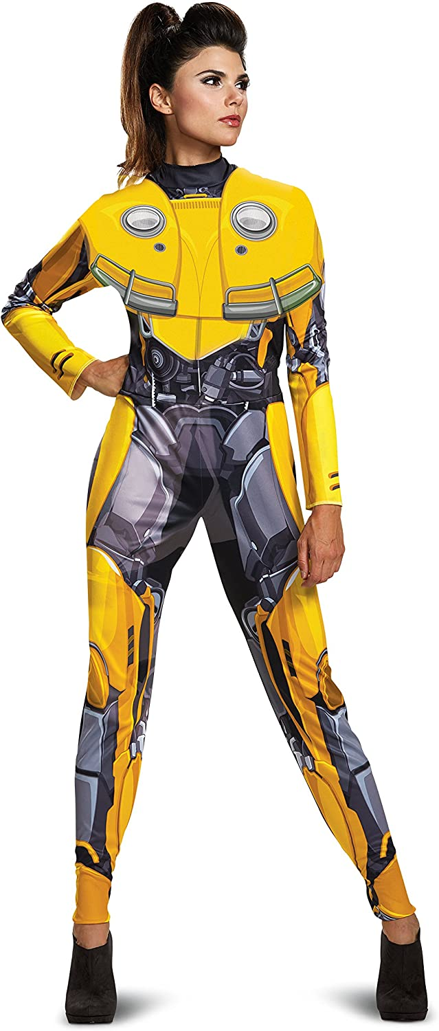 Disguise Women's Bumblebee Adult Female Bodysuit Costume