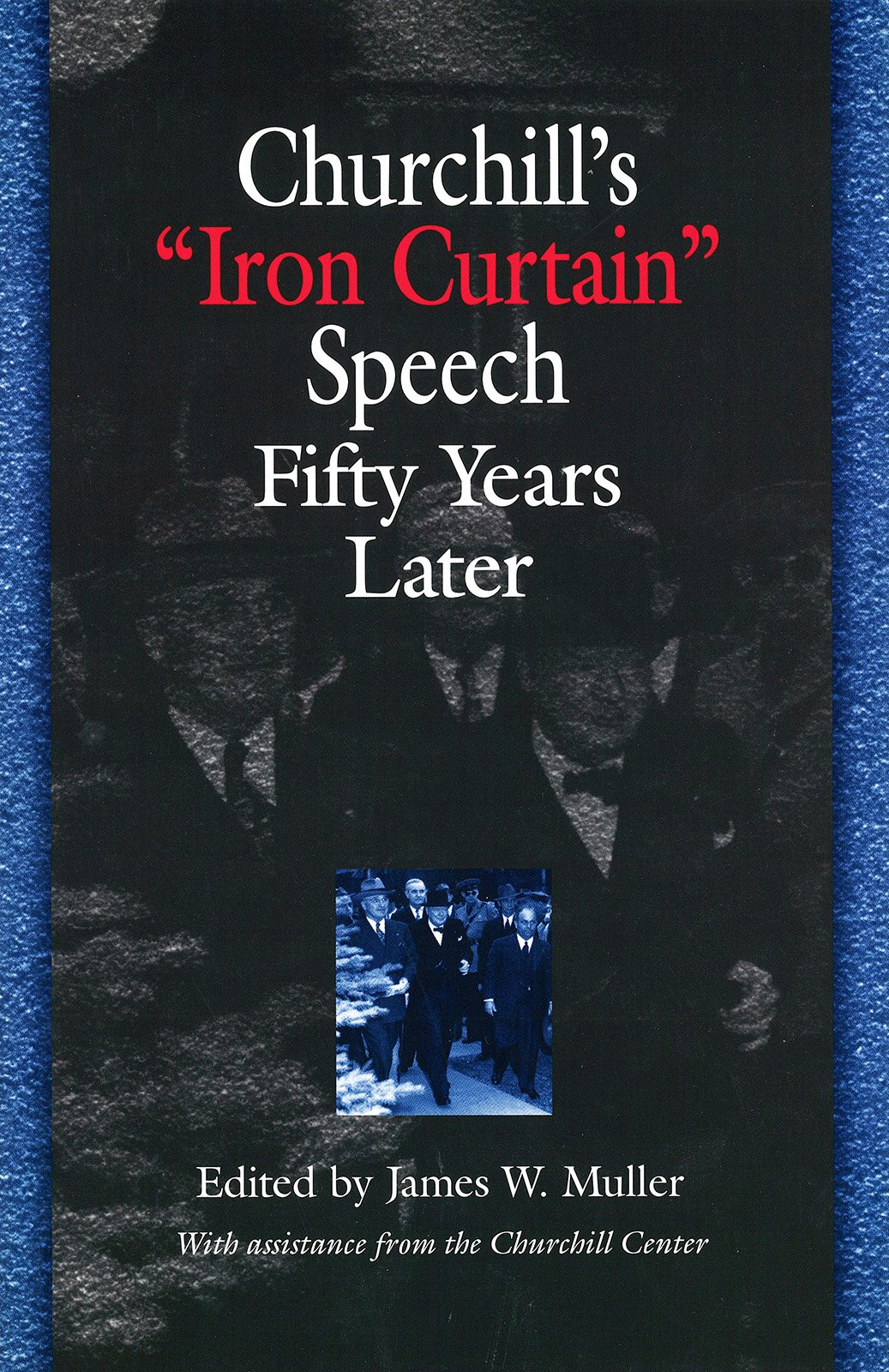churchill iron curtain speech video