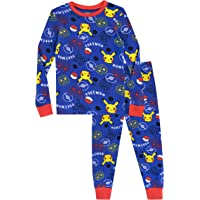 Pokèmon Pijama para Niños Pikachu Ajuste Ceñido