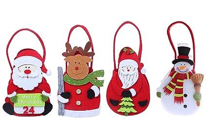 Amazon juvale decorative christmas bags holiday fun xmas